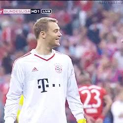 Watch and share Fc Bayern München GIFs and Manuel Neuer GIFs on Gfycat