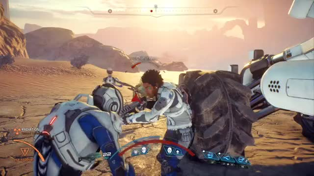Watch and share Mass Effect Teammate Glitch GIFs by snipingsoldier7 on Gfycat