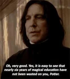 Watch and share Alan Rickman GIFs and Dailypotter GIFs on Gfycat