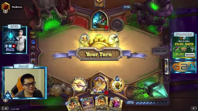 Watch [Hearthstone] Reunited GIF on Gfycat. Discover more amaz, hearthstone, hearthstone heroes of warcraft GIFs on Gfycat