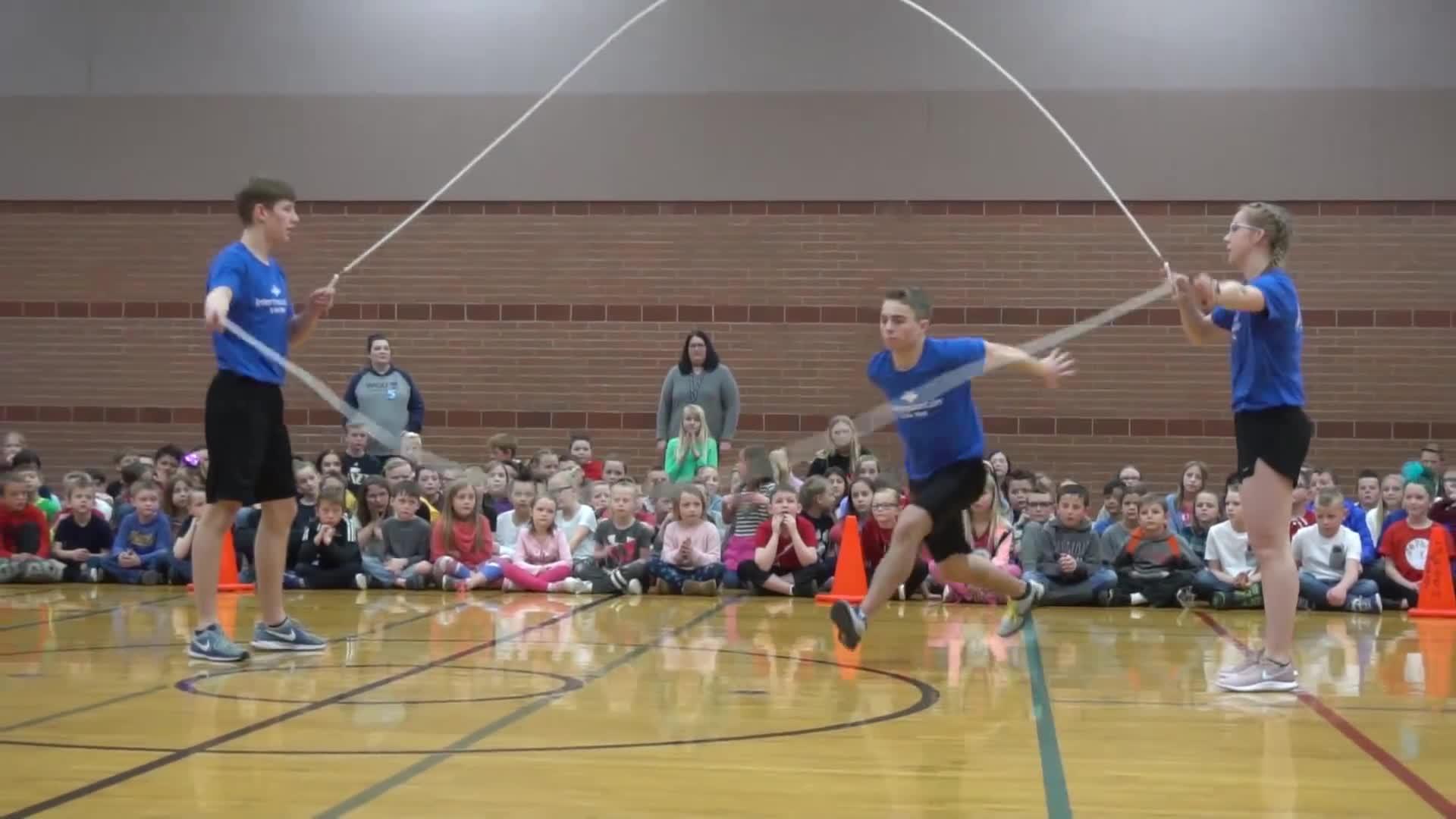 Film & Animation, WeJumpRope Music Videos, basketball, double dutch, flips, porter ballard, proform airborn, utah, wejumprope, JOLT 2019 - the BEST jump rope event in Utah GIFs