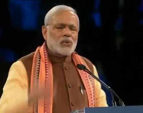 Watch and share PM Narendra Modi  Addresses Indian Diaspora In Toronto Canada GIFs on Gfycat