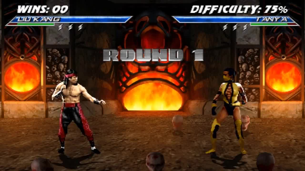 MortalKombat, Mortal Kombat 4.1 -2.9- Final Release Champion Tower -Liu Kang- (Alberto Blaze) Hard 8  2018 GIFs