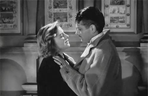 Watch this trending GIF on Gfycat. Discover more 1940, 1940s, 40s, Laurence Olivier, alfred hitchcock, film, films, hitchcock films, joan fontaine, my gifs, rebecca GIFs on Gfycat