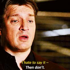 Watch and share Castle Quotes GIFs and Kate Beckett GIFs on Gfycat