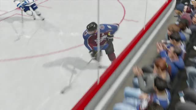 Watch and share Double Hit GIFs and Hockey GIFs by eg on Gfycat