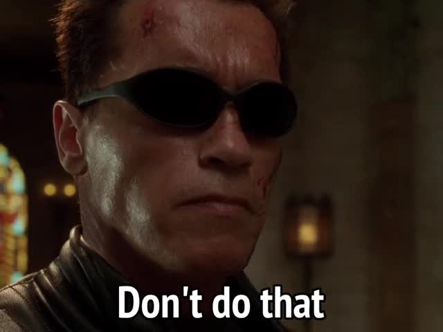 Watch and share Arnold Schwarzenegger GIFs and The Terminator GIFs by MikeyMo on Gfycat