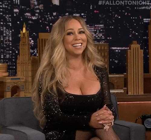 Watch and share Mariah Carey GIFs and Cleavage GIFs by Right USA Now on Gfycat