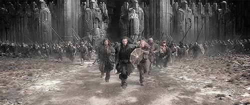 Watch flee GIF on Gfycat. Discover more *high pitched voice* I'm fine, 1k, bofa, bofaedit, gifs, hobbitedit, my edit, the hobbit, thorinedit, totally not crying GIFs on Gfycat