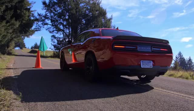 Watch and share 2015 Dodge Challenger SRT Hellcat GIFs on Gfycat