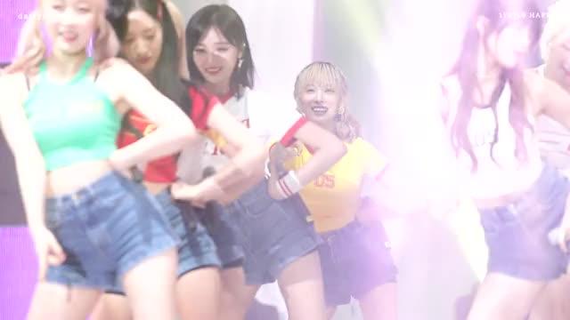 Watch and share 170729 봉화은어축제 우주소녀 루다 해피 직캠 (WJSN LUDA HAPPY FANCAM) GIFs by Koreaboo on Gfycat