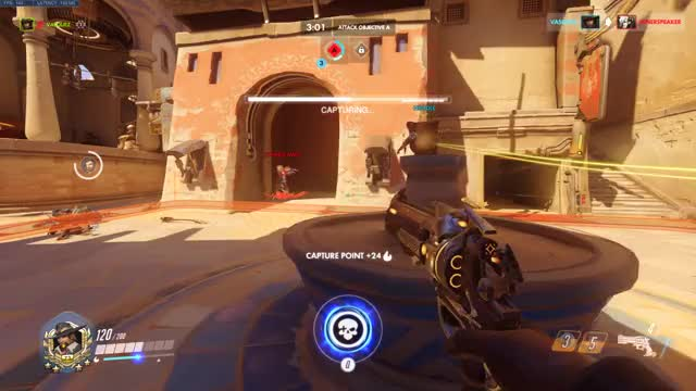 Watch and share Mystery Heroes GIFs and Overwatch GIFs by vasquez plays on Gfycat