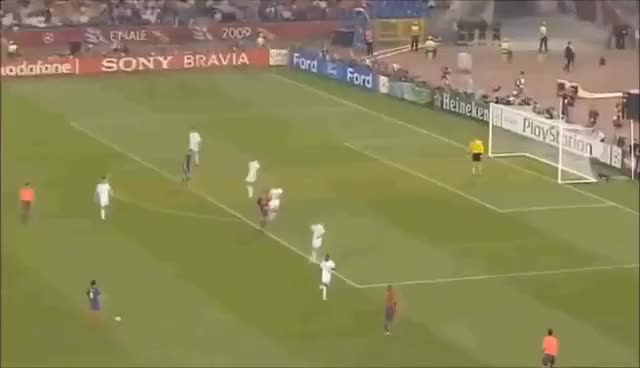 Watch and share Lionel Messi Goal Vs Manchester United 2009 UCL Final GIFs on Gfycat