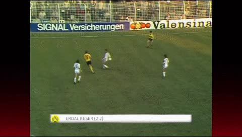Watch and share Erdal Keser. Borussia Dortmund - Stuttgart. 1981-82 GIFs by fatalali on Gfycat