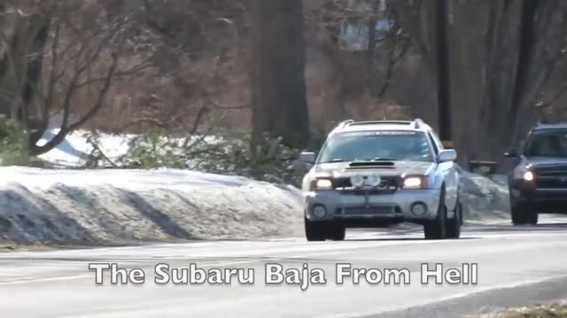 Watch and share Nick Reviews The Subaru Baja From Hell GIFs on Gfycat