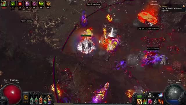 Vaal Molten Shell vs Atziri, full Bossfigths in comments