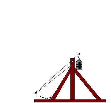 Watch and share Animated Picture Of A Trebuchet GIFs on Gfycat