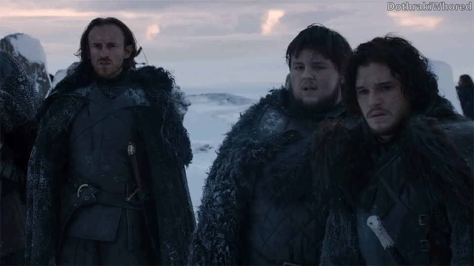 game of thrones memes, got memes, kit harington, Brothers of the Night's Watch discuss r/freefolk GIFs