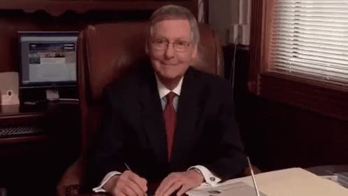 Watch this mitch mcconnell GIF by Total_Travesty (@majorstever) on Gfycat. Discover more mitch mcconnell, politics GIFs on Gfycat