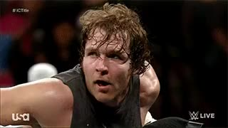 Watch and share Dean Ambrose Gif GIFs and Monday Night Raw GIFs on Gfycat