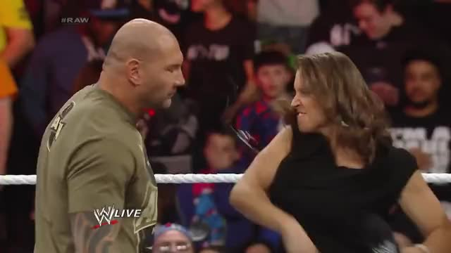 Watch and share Batista GIFs and Wwe GIFs by The Livery of GIFs on Gfycat