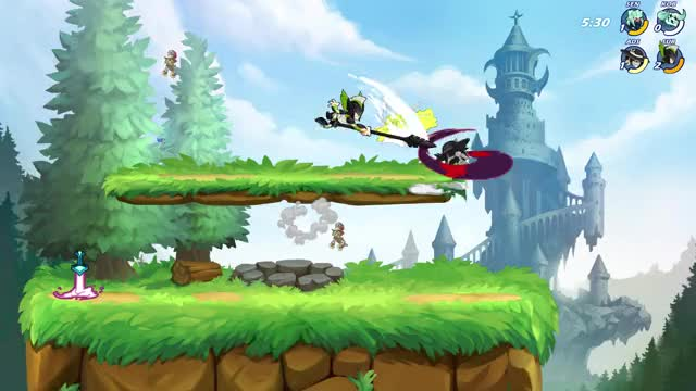 Watch and share Brawlhalla GIFs by juicydiaper on Gfycat