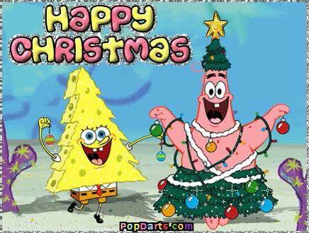 Watch and share Happy Christmas *SpongeBob & Patrick* GIFs on Gfycat