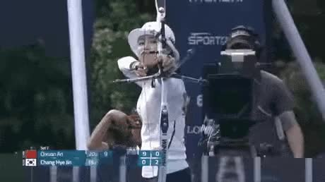 Watch and share 2016 올림픽 양궁 에임핵 논란... GIFs on Gfycat