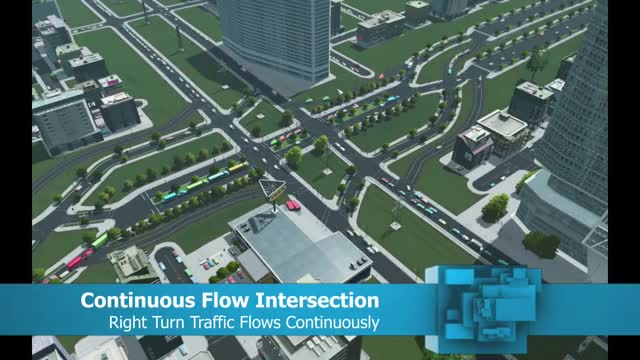 Watch and share CFI: Continuous Flow Intersection GIFs by woo545 on Gfycat