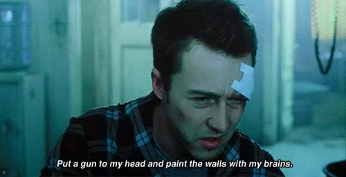 Watch and share Edward Norton GIFs and Fight Club GIFs on Gfycat