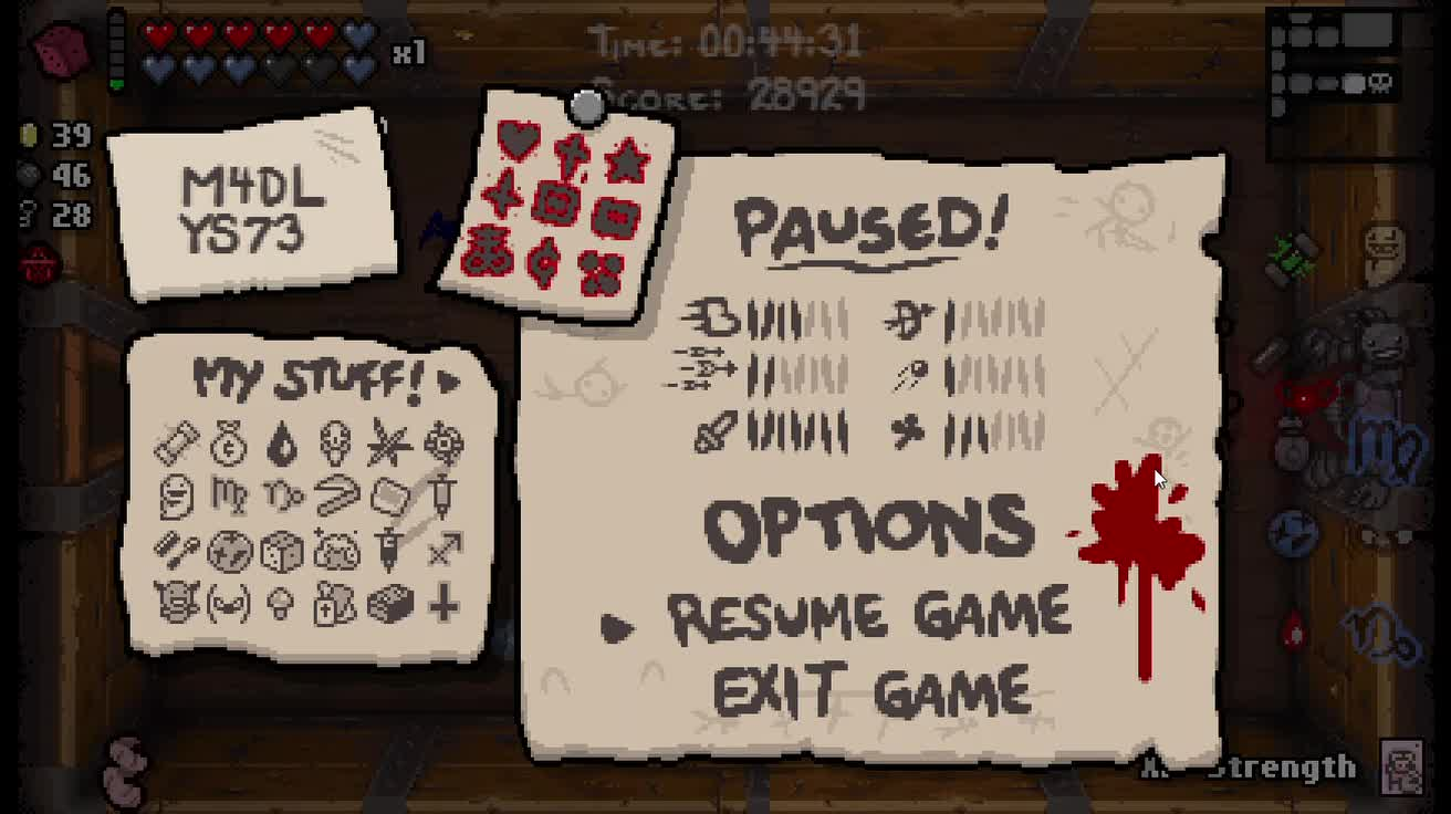 binding, fun, game, isaac, Binding of Isaac Afterbirth: Mopping Floor with Death GIFs