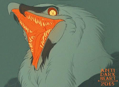 Watch Bearded teeth GIF on Gfycat. Discover more animal, animals, animated, animation, art, artwork, bearded vulture, bird, bird with teeth, digital, gif, illustration, lammergeier, vulture GIFs on Gfycat