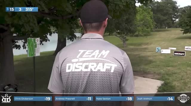 Watch and share 2019 Pro Worlds Round 3 Lake Eureka Andrew Presnell Hole 15 Roller Drive GIFs by Benn Wineka UWDG on Gfycat