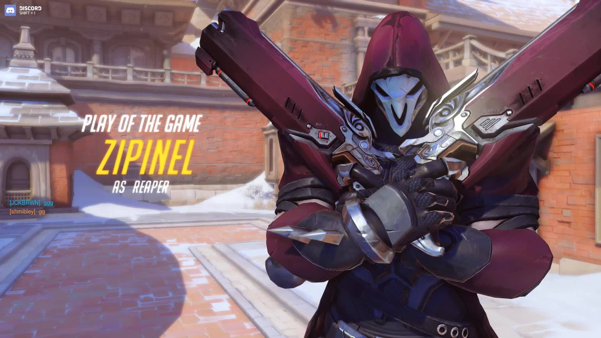 Gameplay, Play of the game, overwatch, overwatchlft, #Overwatch Gameplay - Let me get the bigger gun GIFs