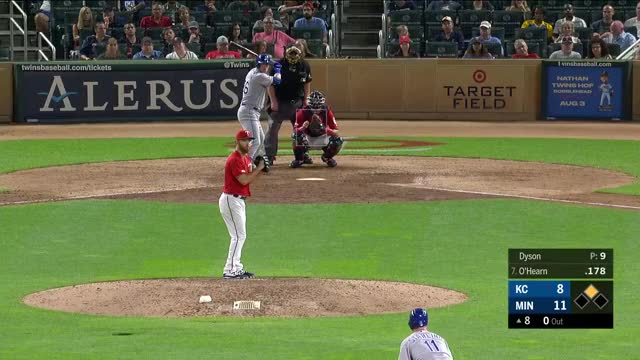 Watch and share Kansas City Royals GIFs and Minnesota Twins GIFs by mmcelroy on Gfycat