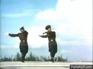 Watch Soviet Army - dance of the soldiers GIF on Gfycat. Discover more related GIFs on Gfycat