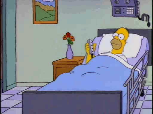 """Watch and share """"Bed Goes Up, Bed Goes Down. Bed Goes Up, Bed Goes Down."""" – Homer Simpson GIFs on Gfycat"""