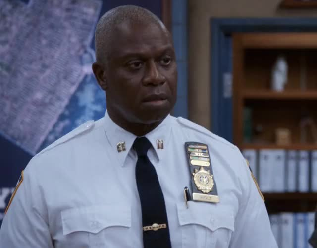 Watch and share Brooklyn Nine Nine GIFs and Andre Braugher GIFs by thethaotranlp on Gfycat