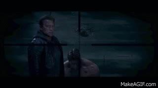 Terminator Genisys | Arnold vs Arnold Fight (Uninterrupted) | Arnold Schwarzenegger GIFs