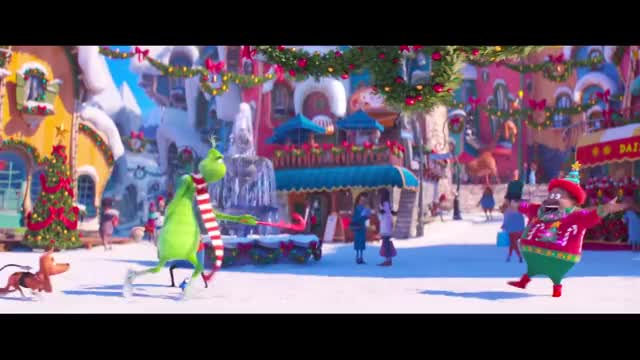 Illumination's The Grinch |10 Minute Preview|Film Clip| Own it on 4K, Blu-ray, DVD & Digital grinch, Illumination's Grinch, Dr. Seuss' The Grinch, Dr. Seuss, new Grinch film, Animated Film, Illumination Film, Benedict Cumberbatch, Rashida Jones, Kenan Thompson, Cameron Seely, Angela Lansbury, Pharrell Williams, Chris Meledandri, Theodor Seuss Geisel, Danny Elfman, Tyler The Creator, How the Grinch Stole Christmas, animation movie, family movie, Christmas Movie, blu-ray, dvd, 4k Ultra HD, digital download, Movie Clip, Film Clip GIF