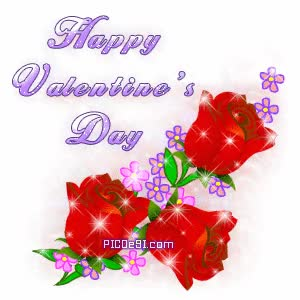 Watch and share Happy Valentines Day Red Roses Sparkle Valentines Day GIFs on Gfycat