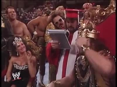Watch Macho King coronation GIF on Gfycat. Discover more related GIFs on Gfycat