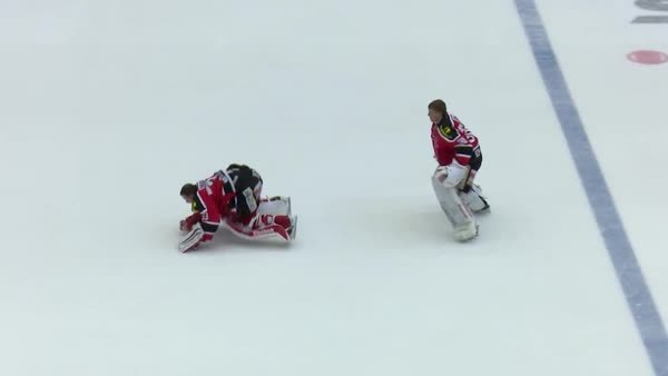 hawwkey, hockey, sportsarefun, Post-win leapfrog :D (Örebro, Swedish Hockey League) (reddit) GIFs