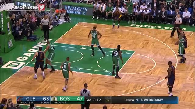 Watch and share Isaiah Thomas Vs Channing Frye Rebounding GIFs on Gfycat
