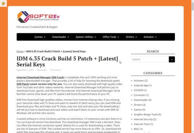 Watch and share IDM 6.35 Crack Build 5 Patch + [Latest] Serial Keys GIFs by crackedsoftware on Gfycat