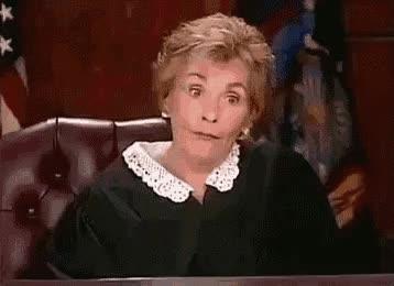 Watch and share Judge Judy GIFs on Gfycat