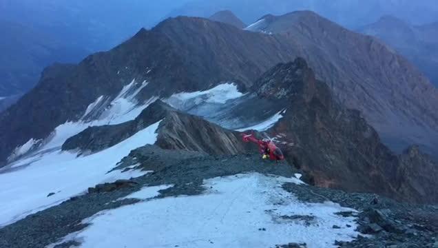 Helicopter Unfall am Großglockner GIFs