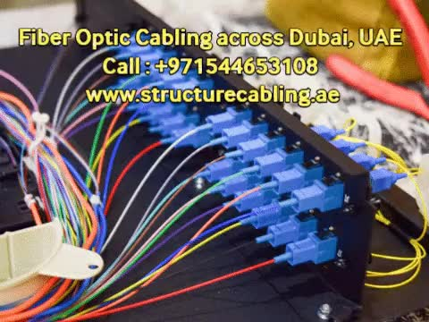 Watch and share Call @ 054-4653108 For Fiber Optic Cabling - Fiber Optic Cable Installation In Dubai - Techno Edge Systems GIFs by RajendraJinna on Gfycat