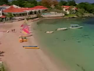 Watch this GIF on Gfycat. Discover more 1%ers, 1990s, 90s, beach, boats, carribean, gif, neon, oc, resort, sailboat, summer, sun, super clubs, vacation GIFs on Gfycat
