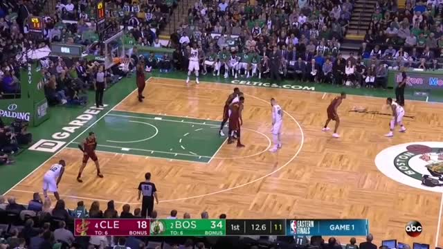 Watch Celtics Horns Exit Turn 3 - Tatum Mismatch (2018 Playoff ECF-G1) GIF by Remembering 0416 (@louisekarl79) on Gfycat. Discover more related GIFs on Gfycat